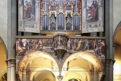 Organo Basilica Abbaziale (1524, Giovan Battista Facchetti)