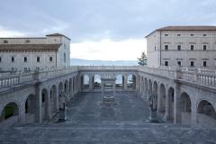 Montecassino-Chiostro-Bramantesco