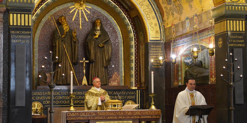 «Una speranza ricca di pazienza e fiducia ci accompagni in questi giorni difficili»: l'Abate di Montecassino nel giorno di San Benedetto