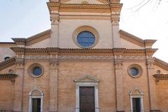 Frontale Basilica Abbaziale Rinascimento modenese